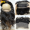 New Style Custom Body Wave 360 Lace Band Frontals Back Lace Frontal Closure With Natural Hairline Baby Hair For Black Women Sell