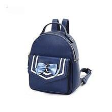 LilyHood PU Leather Mini Backpack Teenage Girly Japanese Style Kawaii Cute  Sweet Bow Small Daily School 3a98356fc7