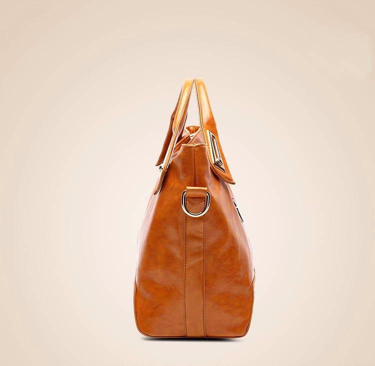 Women Oil Wax Leather Designer Handbags High Quality Shoulder Bags Ladies Handbags Fashion brand PU leather women bags WLHB1398 15