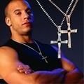 Classic Men's Rosary necklaces & pendants Cross necklace charms Furious Toretto cross women necklace men jewelry 1000