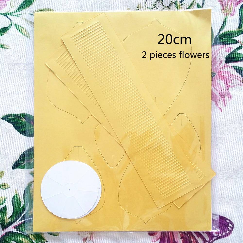 20cm Diy Paper Flowers For Photo Backdrops Home Decor Wedding