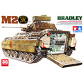 Tamiya modelo escala 35132 1/35 escala kit conjunto M2 BRADLEY veículo tanque tanque de escama de construção modelo de veículo