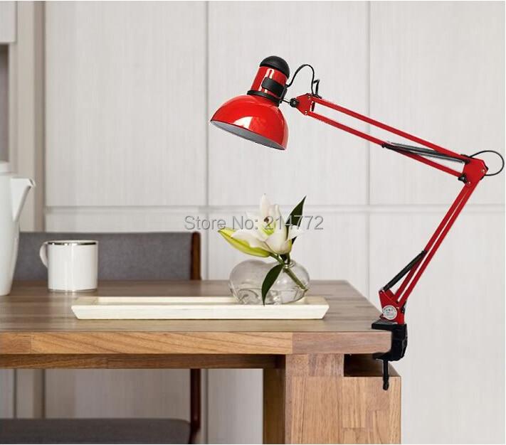 Candeeiros de Mesa lâmpada dobrável braço longo para Interruptor : Interruptor Liga / Desliga
