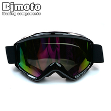 MG 015A BK Black Color Reflective Lens Flexible Adult Motorcycle Protective Gears Motocross MX Goggles Glasses