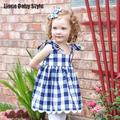 New Ins Plaid Infant Girls Clothing Set Tank Tops + Harem Pants Shorts Roupa Infantil Newborn Gift Babies Clothing Costume