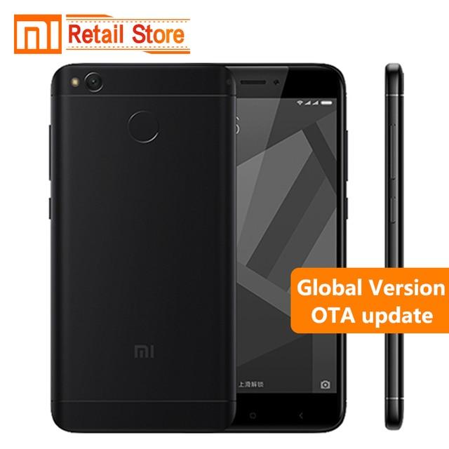 "Global Version Xiaomi Redmi 4X Pro Mobile Phone 4 X Snapdragon 435 Octa Core CPU 3GB RAM 32GB ROM 5.0"" 13MP 4100mAh Band B20"