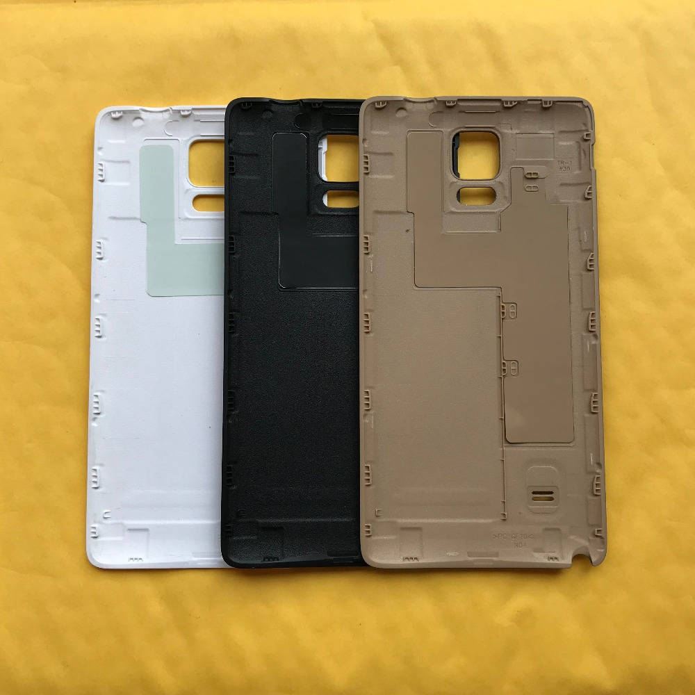 For Samsung Galaxy Note 4 N910 N910F N910V N910C N910G N910A N910P Original Phone Cases Battery Rear Cover Housing Door