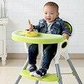 Детские Сидения Мест Кормления Мать и Дети Младенцы кормления стул пластиковый обеденный стол с поворотным ноги лотки мягкий салон новый