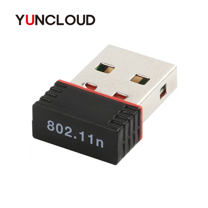 YUNCLOUD USB WIFI Adapter High speed 150Mbps LAN Network Card 802.11 ngb For Windows XP PC Laptop Mini USB 2.0 Wireless Adapter цена