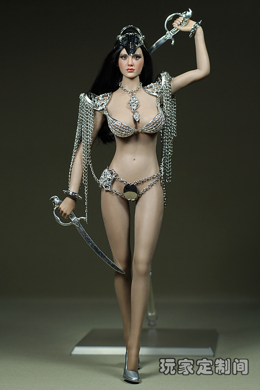 1/6 doll Accessory Metal clothes for Phicen Female Seamless body Action figure doll,Not included head;body;shoes;weapon 3737 1 6 scale figure doll plastic model seamless body with metal skeleton female samurai tomoe 12 action figure collectible figure