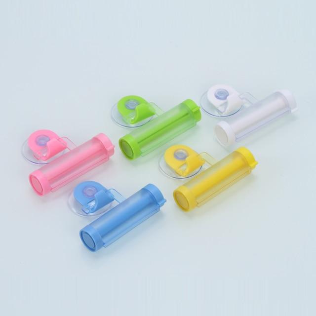 1 Pcs Distributore di Rotolamento Squeezer di Dentifricio Spremitura Tubo di Pla