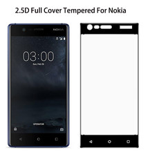Tempered Glass For Nokia 5 7 8 2 3 6 Nokia 6 2018 7 Plus 5X 6X Glass Full Cover Screen Protector For Nokia 5.1plus 6.1plus 7plus(China)