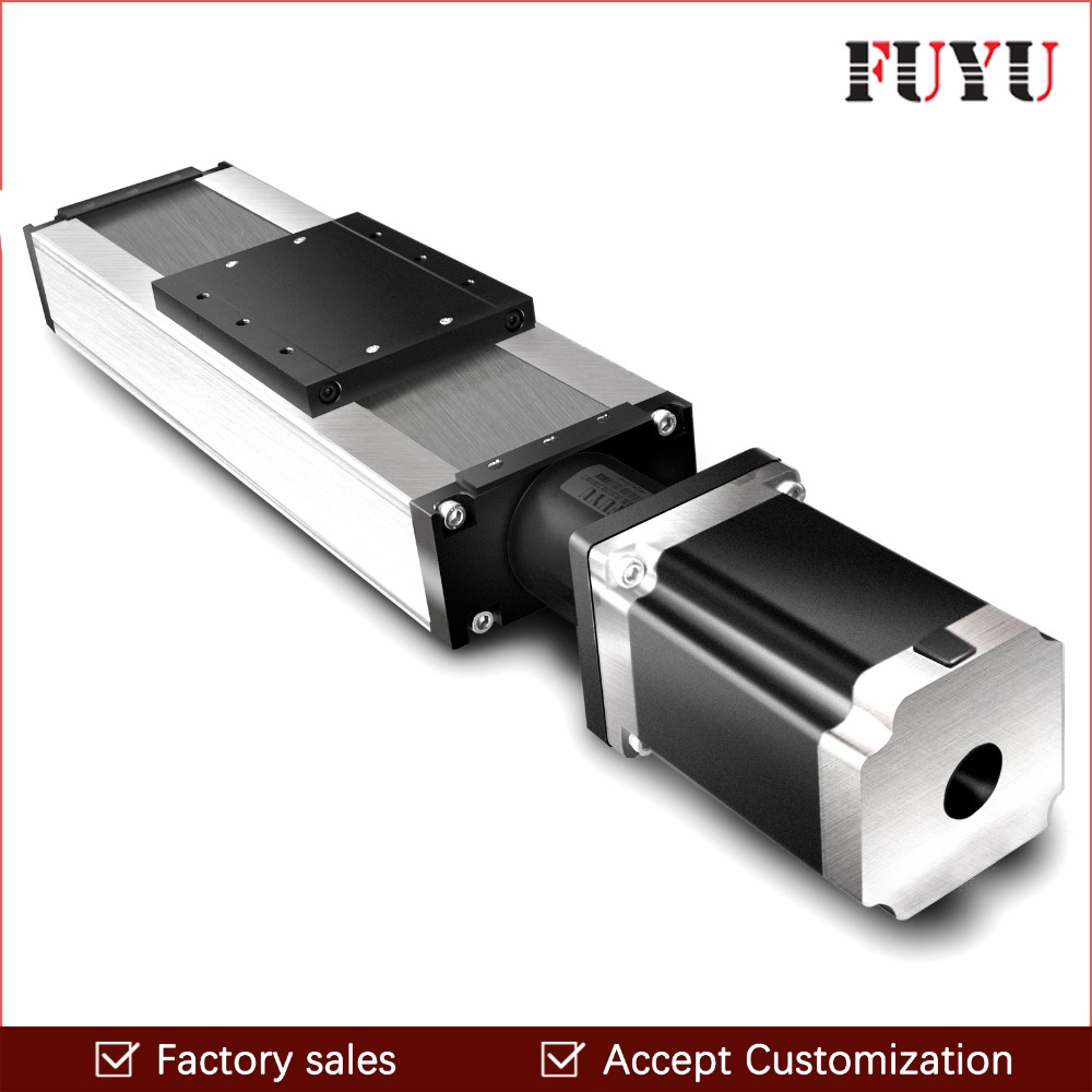 Free Shipping 100mm 1500mm Stroke Ball Screw Linear Module Guide Rail Slide Actuator CNC Stage Travel