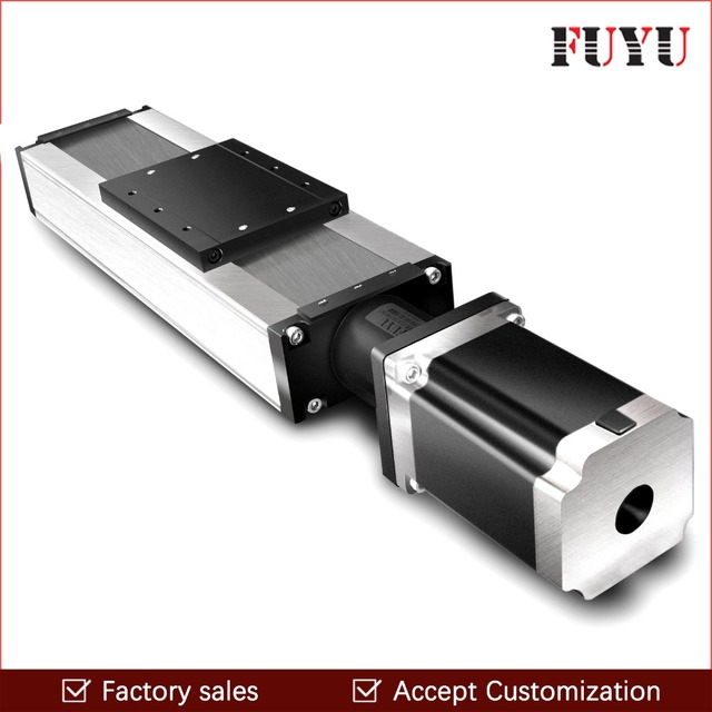 Free Shipping 100mm-1500mm Stroke Ball Screw Linear Module Guide Rail Slide Actuator CNC Stage Travel Guide for Motion System