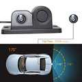 CARPRIE car rear view camera night vision with Radar Parking Sensor 170 degrees Viewing Angle HD Waterproof