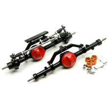 High Quality  1/10 Rc Car Full Alloy Front And Rear Axle For 1:10 Rc Crawler D90 AXIAL RC4WD Free Shipping