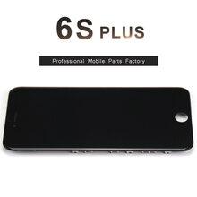 10 шт. для iphone 6s plus жк-дисплей с 3d силу с сенсорным экраном дигитайзер ассамблеи 5.5 дюймов дисплей + держатель камеры нет мертвых pixel