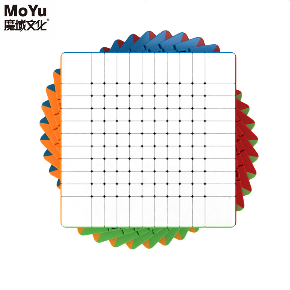 Moyu Cubing salle de classe 11x11x11 Meilong Magic Speed Cube sans autocollant professionnel Puzzle Cubes jouets