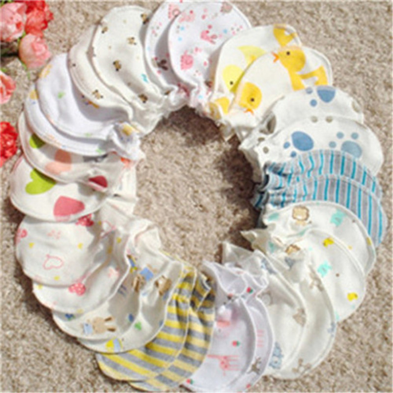 3pcs/lot   Baby cotton gloves anti catch newborn baby mitts necessary    A-XBK-ST001-3
