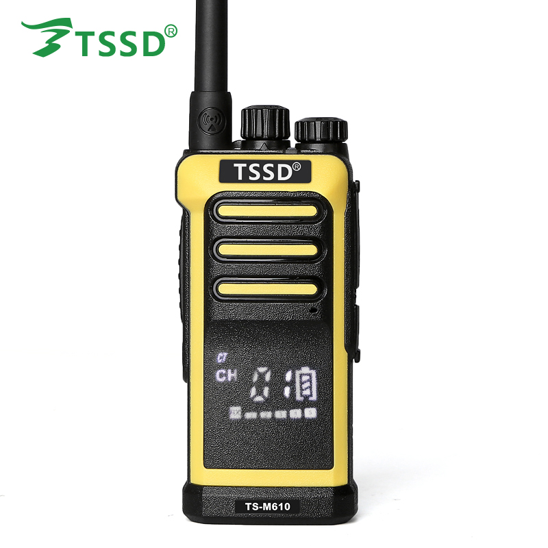 New Designed TSSD Hidden Display Screen Led UHF Two Way Radio TS-M610