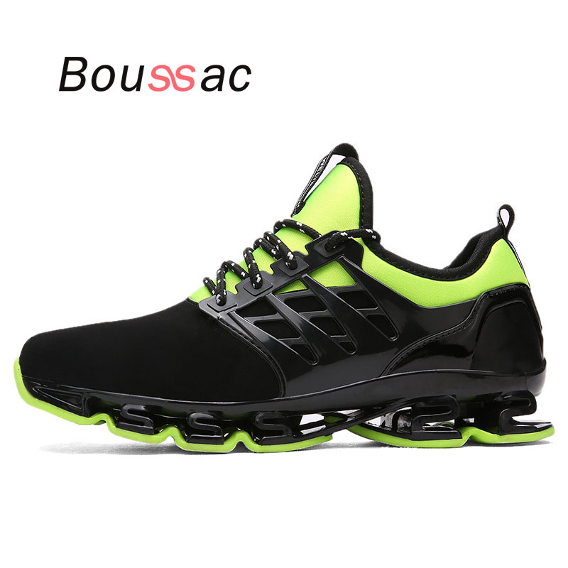 Lovers blade 2018 new running shoes men lightweight anti-puncture rebound men shoes women shoes spring summer autumn