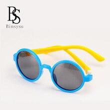 dba88dc67bf7c La vendimia de Ronda Gafas de sol polarizadas Niños chica anti uva Sol  Gafas niños TAC círculo flexible gafas oculos 847