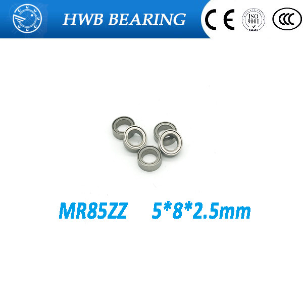 Free shipping 10PCS  MR85 ZZ  5*8*2.5mm MR85ZZ  deep groove ball bearing 5x8x2.5mm miniature bearing mr85-2z  L-850ZZ gcr15 6326 zz or 6326 2rs 130x280x58mm high precision deep groove ball bearings abec 1 p0