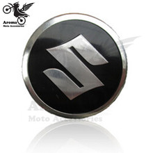 "brand Motorcycle sticker Universal metal decal 3D ""S"" Logo Emblem Decal motorbike Stickers For Suzuki moto Accessories motocross"