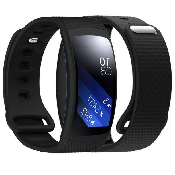 Luxury Silicone Watch Replacement Band Strap For Samsung Gear Fit 2 SM-R360 Wristband 100% brand new  wholesale  Sep14