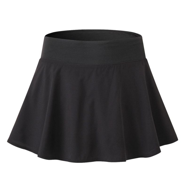 Women Shorts Skirts 2018 Athletic Quick-drying Workout Short Skirts with Built in Shorts