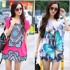 2017 Summer T Shirt Female Style Loose Plus Size Loose Short Sleeve T Shirt Women Cartoon
