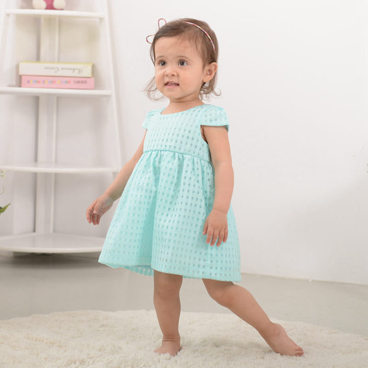 Nyári baba lány ruha, divat vékony hercegnő ruha, márka gyerek - Bébi ruházat - Fénykép 4