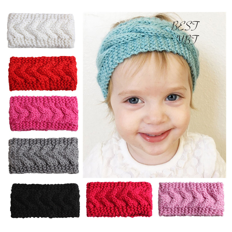 Apparel Accessories Ey Women Girls Winter Knitted Twist Headband Ear Warmer Turban Solid Color Hairband Fast Color Girl's Accessories