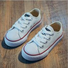 Hot Sale Children Canvas Shoes Boys Girls Sneakers Spring Au