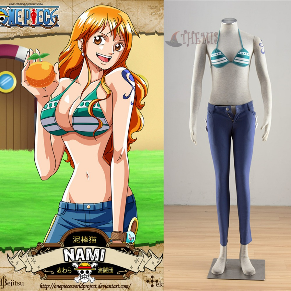 Aliexpress.com : Buy Athemis new ONE PIECE Nami cosplay ...