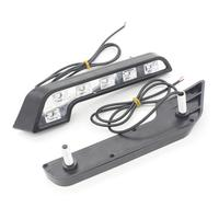 Free Shipping 2PC High Power 6 LED Daytime Running Lamp Fog Light Kit Day DRL