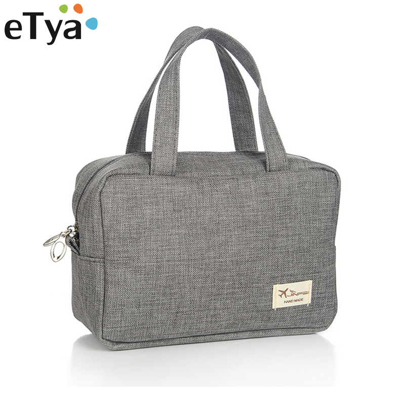 ETya Fashion Men Women Cosmetic Bag Small Large Travel Necessaries Makeup Bag Make Up Organizer Tote Wash Toiletry Bags Handbag