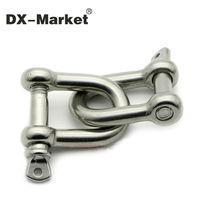 M28, 304 manilha de aço inoxidável Aparelhamento D harpa, m28 sus304 d manilha dee manilha
