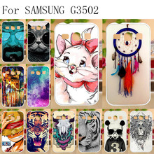 Anunob Soft TPU Case Coque For Samsung Galaxy Core Plus G350 G3500 G3508 G3502U 4.3 inch SM-G350 G3509 Trend 3 G3502 Cover Bags стоимость