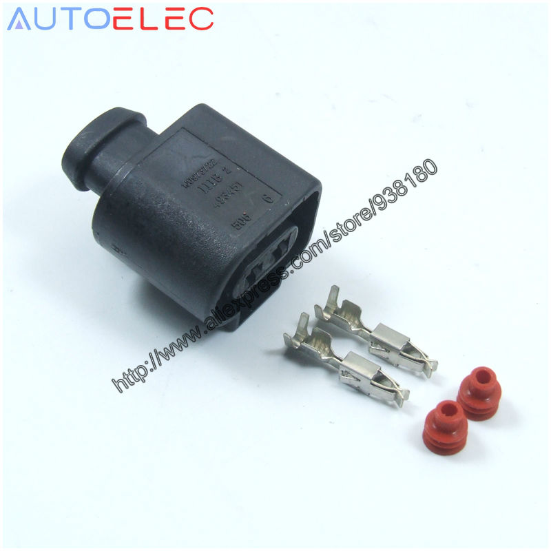 10Kits/lot 2Pin Sealed Female JPT PLUG automotive wire connector ...