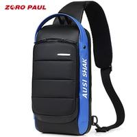 ZORO PAUL Casual Shoulder Crossbody bags for Men Large Capacity Man Travel Chest Bag Pack Anti Theft Messenger Bag Men