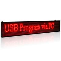34 CM SMD P5 LED module D'affichage jaune bleu vert blanc Programmable Message Défilant conduit signe Conseil Multi-couleur en option