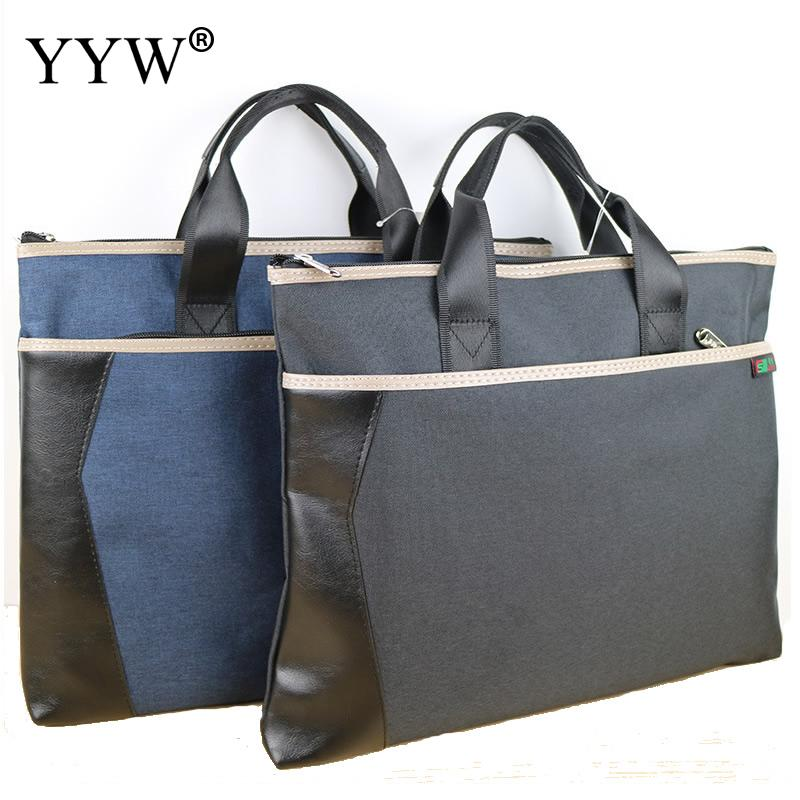 Large Capacity Business Bag For Men Laptop Bag Casual Executive Briefcase Waterproof Oxford Handbag Bolso Hombre Leather Bag Men