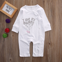 Toddler Newborn Kids Baby Boy Girls Warm Infant Jumpsuit Clothes Bodysuit