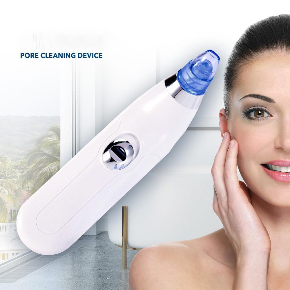 Epacket Dropshipping Blackhead Remover Face Skin Care Tools Face Deep Pore Acne Pimple Removal Vacuum Microdermabrasion No LOGO