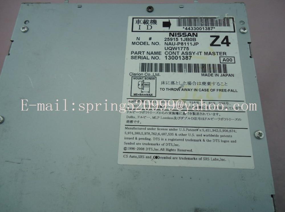 Online Shop Clarion Infiniti G37 Nis-an CONT ASSY-IT MASTER HDD car dvd navigation unit 25915 JF03A/1JB0B NAU-PG84111JP UQW1329 UQW1775 | Aliexpress Mobile