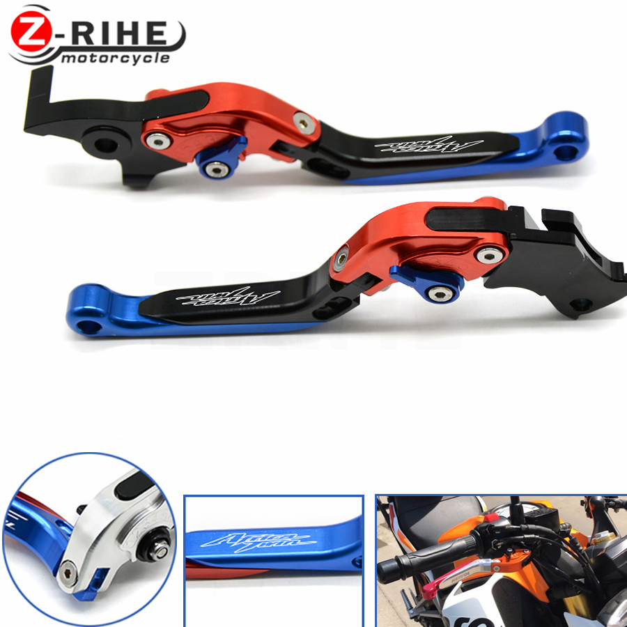 Adjustable Folding Extendable Motorcycle Brake Clutch Lever For HONDA CRF1000L CRF CRF1000 1000L 2015 2016 2017 Africa Twin 2015 motorcycle rearview mirror motorbike rear view mirrors universal motocross for honda crf1000l crf 1000l africa twin 2015 2017