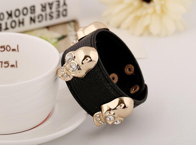 Rock Spikes Cuff Bracelet...