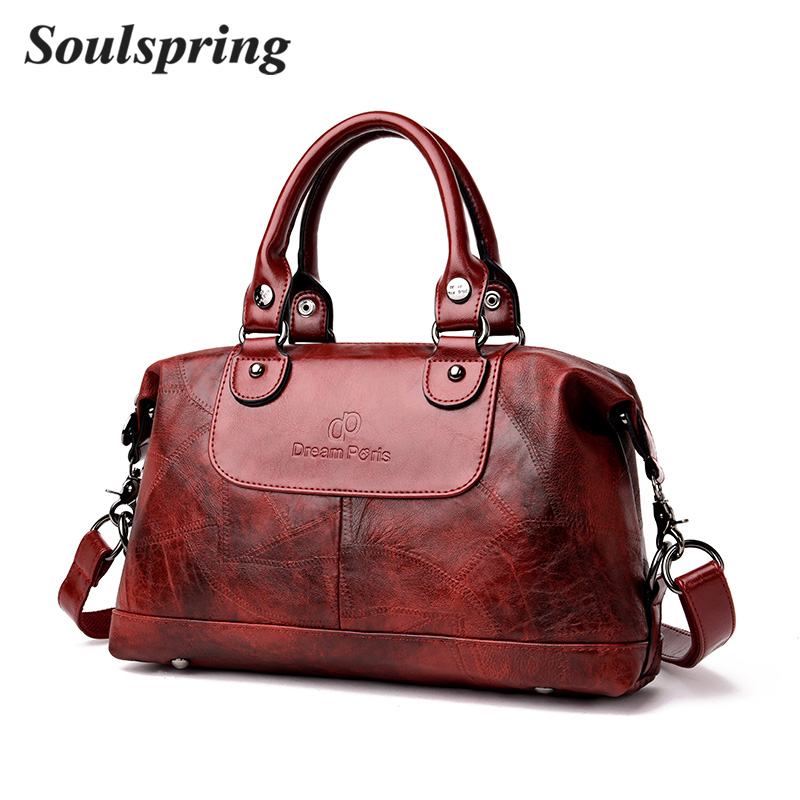 2018 New Fashion Women Handbag Vintage Shoulder Crossbody Bags Famous Brand Luxury Female Shoulder Bag Bolsa Feminina Sac A Main nubuck leather shoulder bags for women 2018 fashion handbag vintage crossbody bag motorcycle casual totes bag sac bolsa feminina