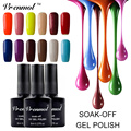 Vrenmol 1pcs UV Gel Nail Polish Shining 29 Colors Esmaltes Semi Permanent Gel Lacquer Soak Off Nail Gel Polish